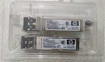 ماژول فیبرنوری HP sfp AJ718A  آکبند
