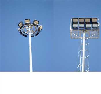 برج نوری و سازه فلزی