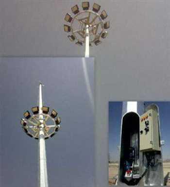 سازه برج نوری و پروژکتور