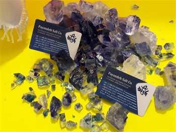 فروش استثنایی سنگ نمک کریستالی و ابی درجه یک برای اولین بار توسط شرکت نمک پاینده