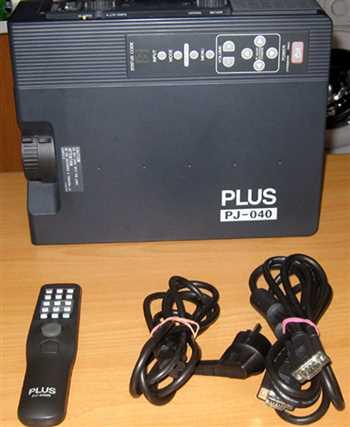 دیتا پروژکتور PLUS PJ-040 اصل ژاپنی